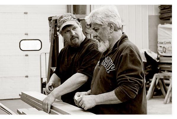Experienced craftsmen