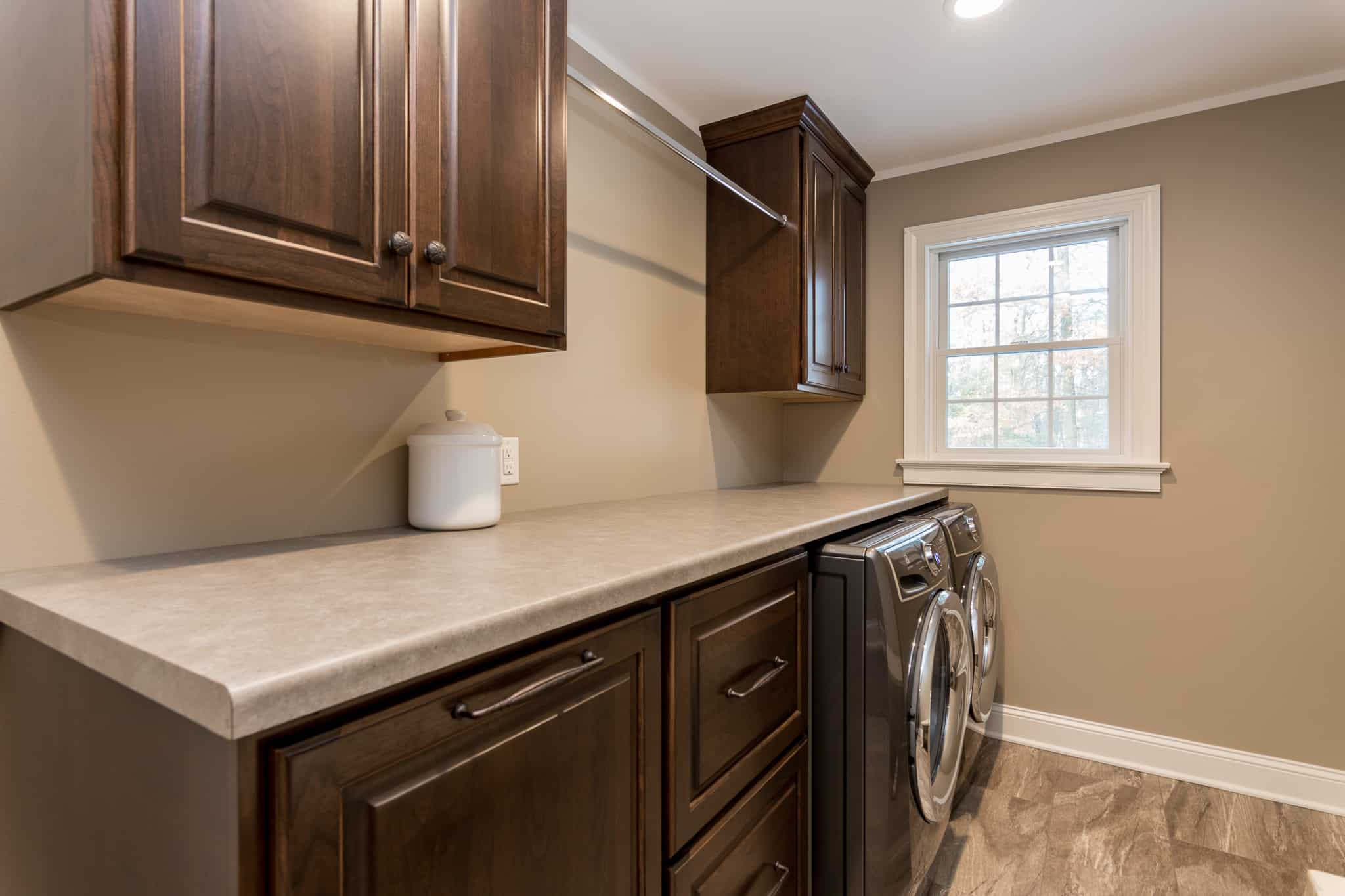 laundry room cabinetry